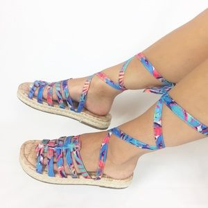 54dc64c61 Sam Edelman Shoes - Sam Edelman Colorful Strappy Sandals